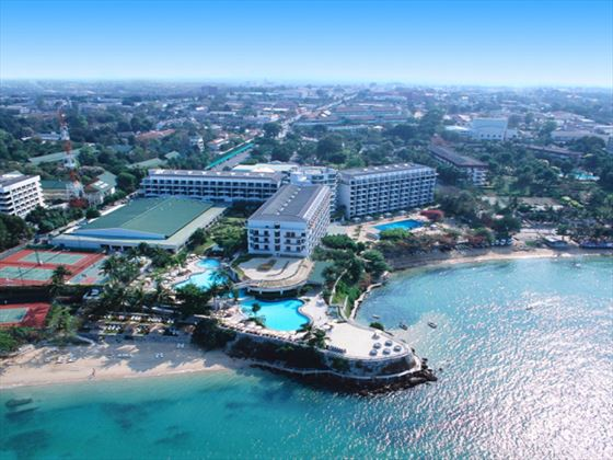 Aerial view of Dusit Thani Pattaya