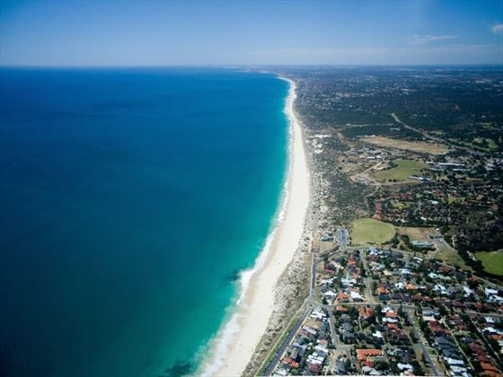 Aerial view of Perth