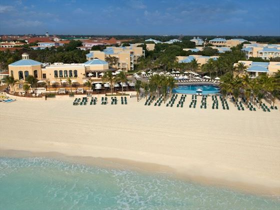 Aerial view of Royal Hideaway Playacar