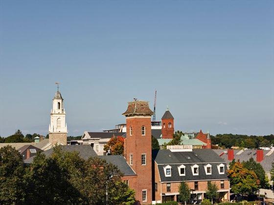 Aerial view of Salem, Massachusetts