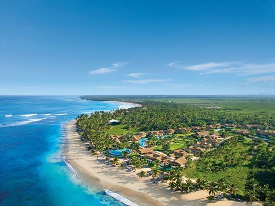 Aerial view of Zoetry Agua Resort & Spa