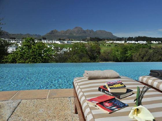 Pool at aha De Zalze Lodge