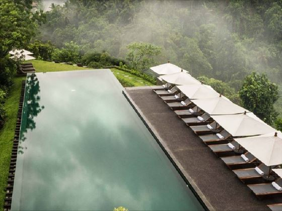 Alila Ubud Main swimming pool