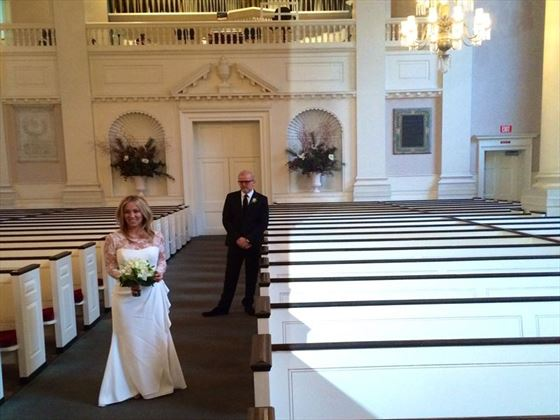 Traditional Chapel wedding, New York