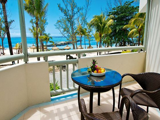 Ambre Resort & Spa balcony