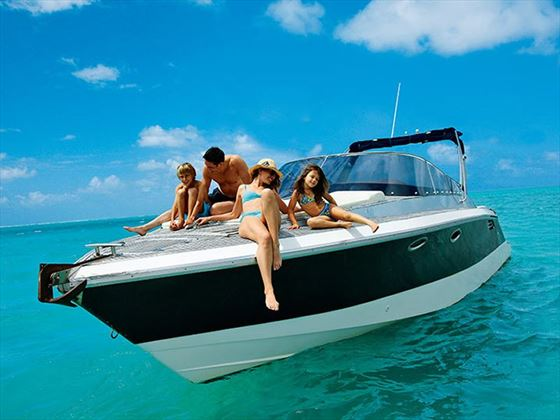 Experience a private speedboat excursion