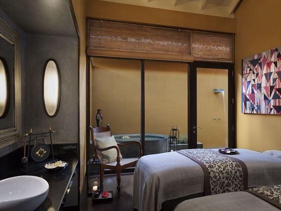 Anantara Kalutara spa couples treatment room