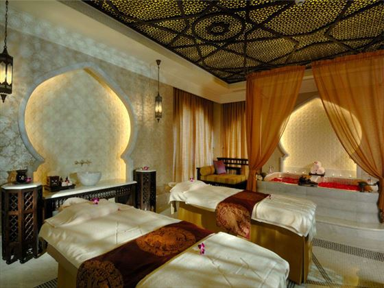 Anantara spa room at Emirates Palace