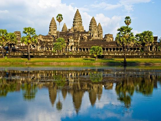 Angkor Wat before sunset