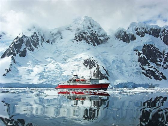 View of the MS Expedition