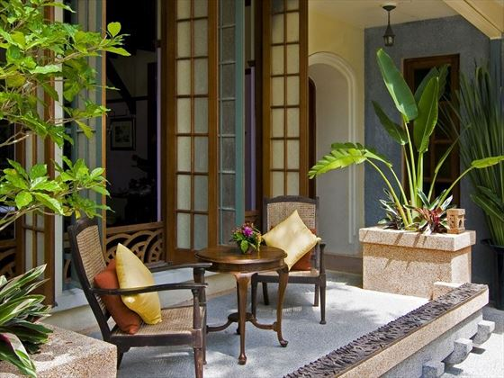 Ariyasom Villas private balcony
