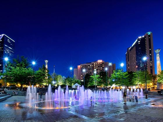 Centennial Olympic Park fountain, Atlanta