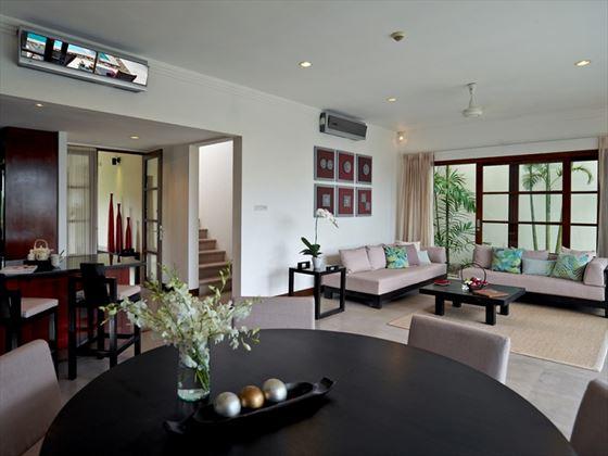 Balcony Villa living room