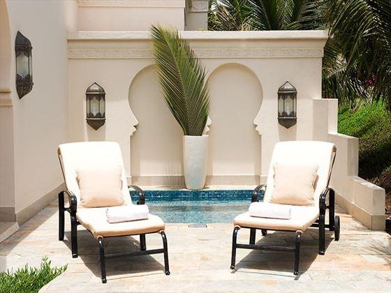 Baraza Resort & Spa villa plunge pool