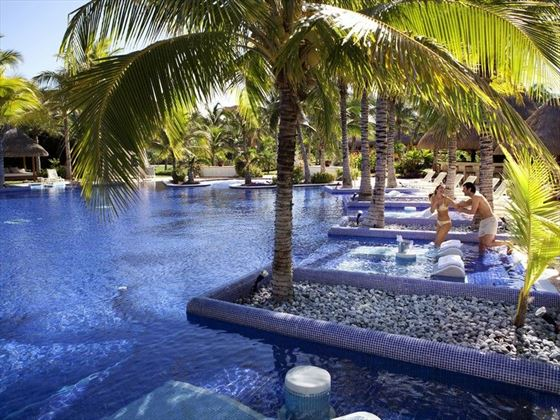 Barcelo maya palace riviera maya book now with tropical sky - The sky pool a deluxe adventure ...