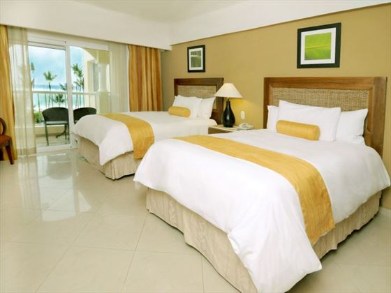 Occidental Caribe Deluxe Sea View Room