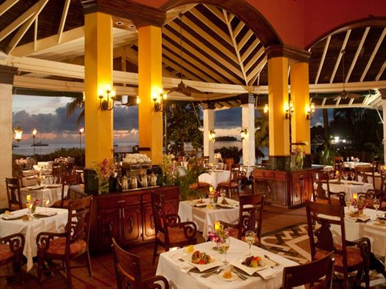 Bayside restaurant at Sandals Negril Beach Resort & Spa
