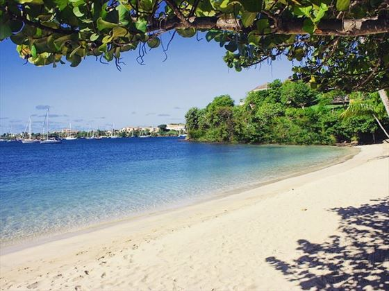 The beach at Calabash Luxury Boutique Hotel & Spa