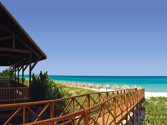 Beachfront location at Blau Varadero