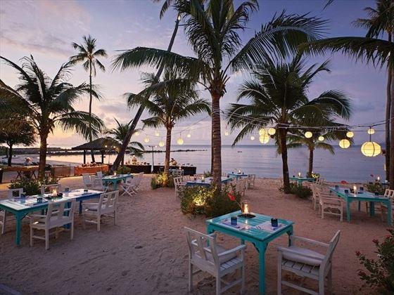 Beachfront Restaurant, Belmond Napasai