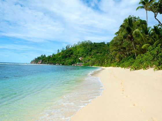 Beautiful Baie Lazare beach