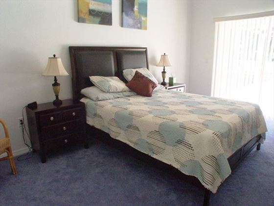 Bedroom at New Port Richey Homes