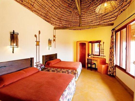 Bedroom at Samburu Sopa Lodge