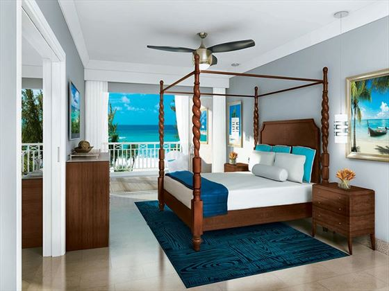 Sandals Barbados bedroom (Artist Impression)
