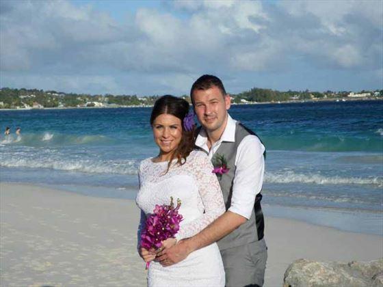 3f56aed64a1 ... wedding ceremony Love at Sandals Barbados Congratulations!