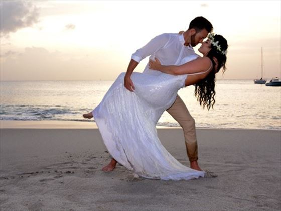 Bride & Groom at The BodyHoliday