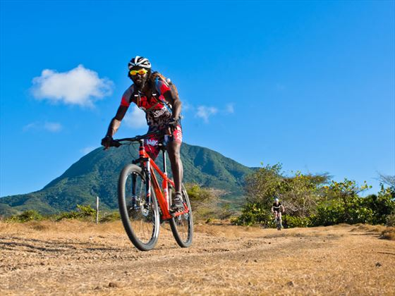 Mountain biking in Nevis