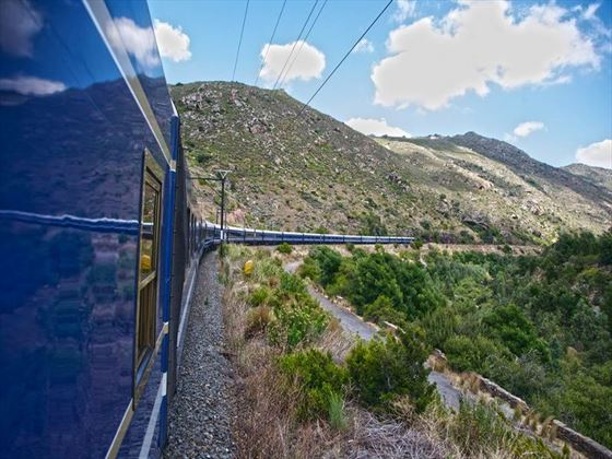 Blue Train scenic journey