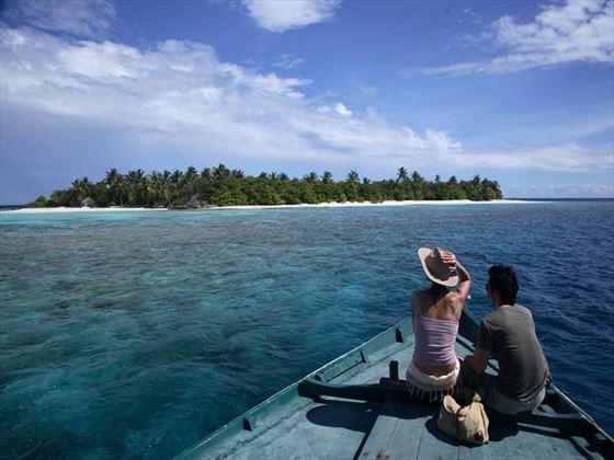 Boat excurion at Coco Palm Dhuni Kolhu