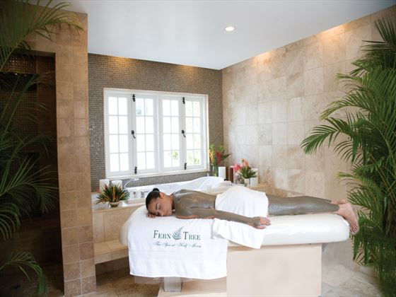 Body wrap treatment from the Fern Tree Spa at Half Moon