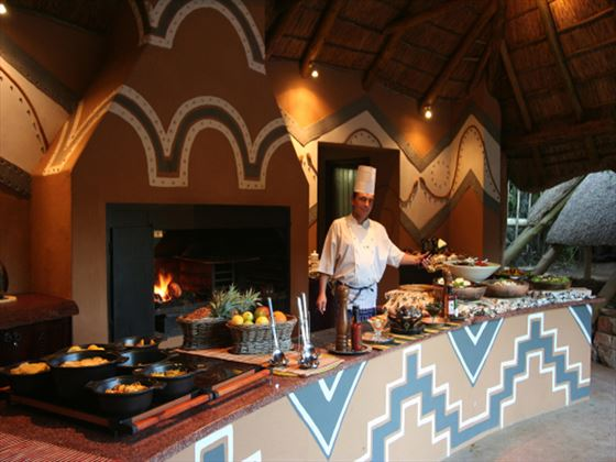 Boma at Pumba Private Game Reserve