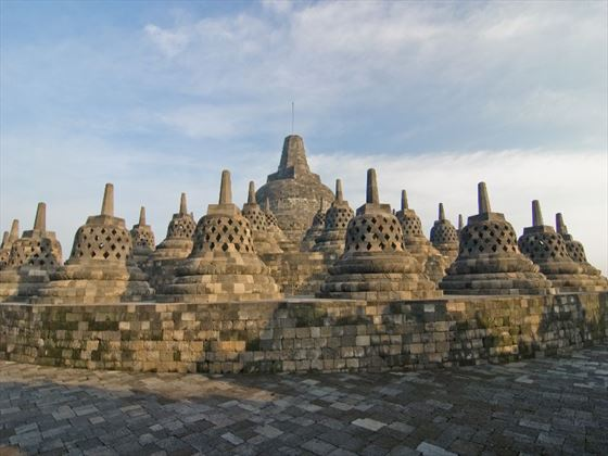 Borobudur in central Java