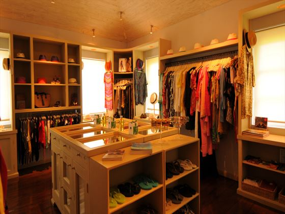 Boutique store at Cotton House