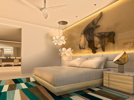 xhale club Master Suite - artist's impression