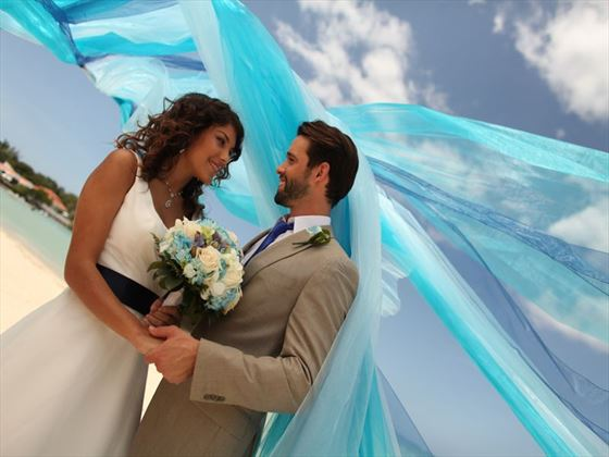 Beautiful & vibrant weddings at Breezes Bahamas