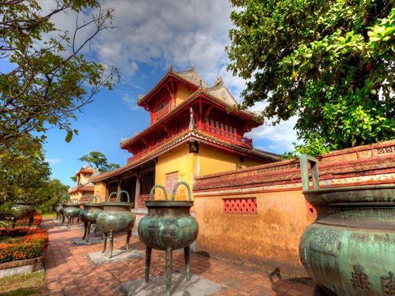 Ornate building in Hue