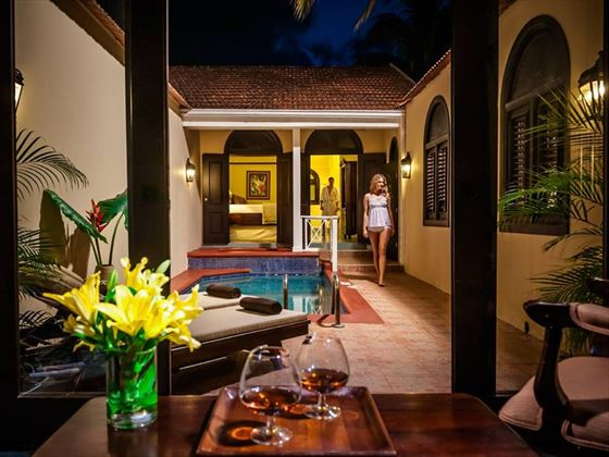 The Butler Village Honeymoon Romeo & Juliet Sanctuary One Bedroom Villa