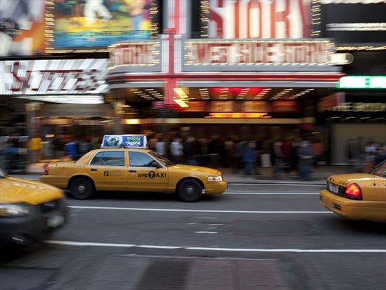 New York cabs, USA