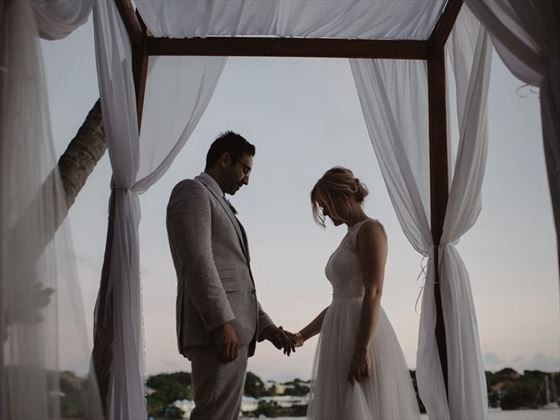 Romantic momnets at the Calabash Luxury Boutique Hotel & Spa