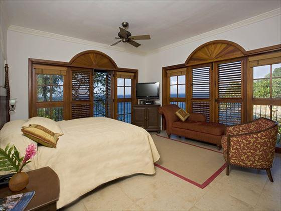 Cap Maison Ocean View Villa Suite bedroom