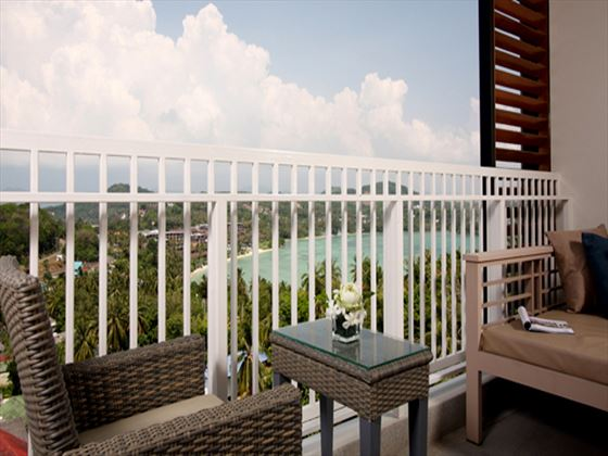 Cape Panwa Junior Suite balcony