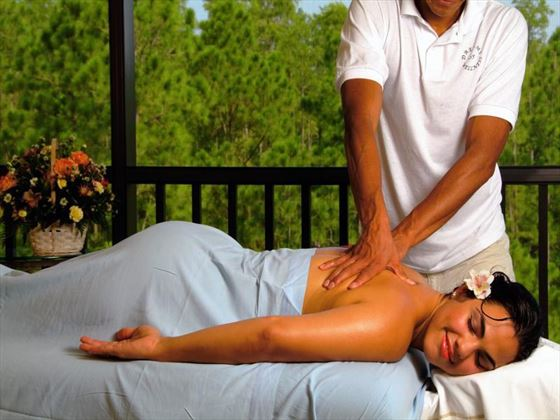 Caribe Cove Resort spa massage