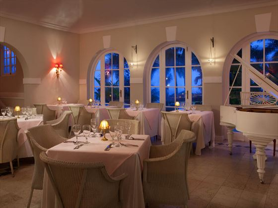 Cassanova restaurant at Couples Sans Souci