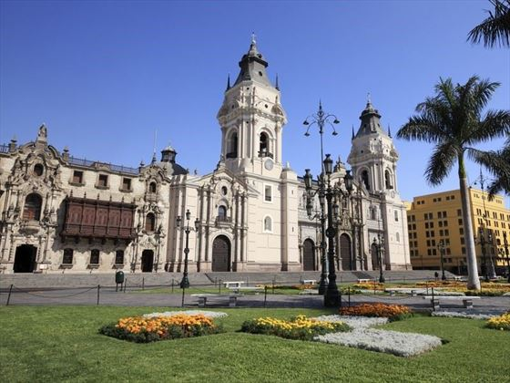 Cathedral in Lima, the capital of Peru