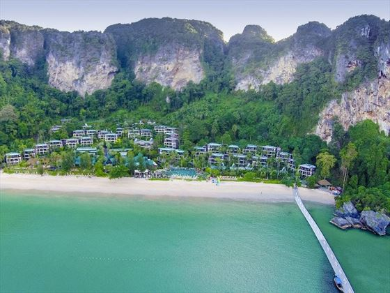 Centara Grand Beach Resort Krabi Beach Aerial View