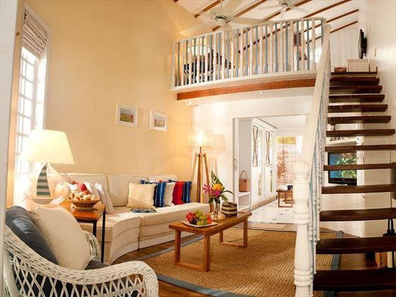 Centara Grand Island Resort & Spa Beach Suite living area